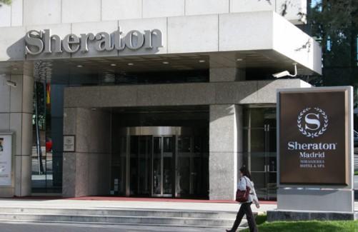 Letras corpóreas para Hotel Sheraton